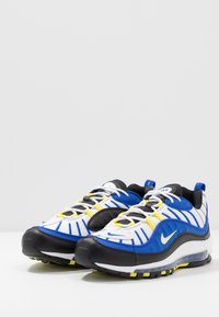 Nike Sportswear - AIR MAX 98 - Sneakersy niskie - racer blue/white/black/dynamic yellow - 3
