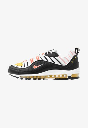 AIR MAX 98 - Sneakers - black/brigt crimson/white/chrome yellow