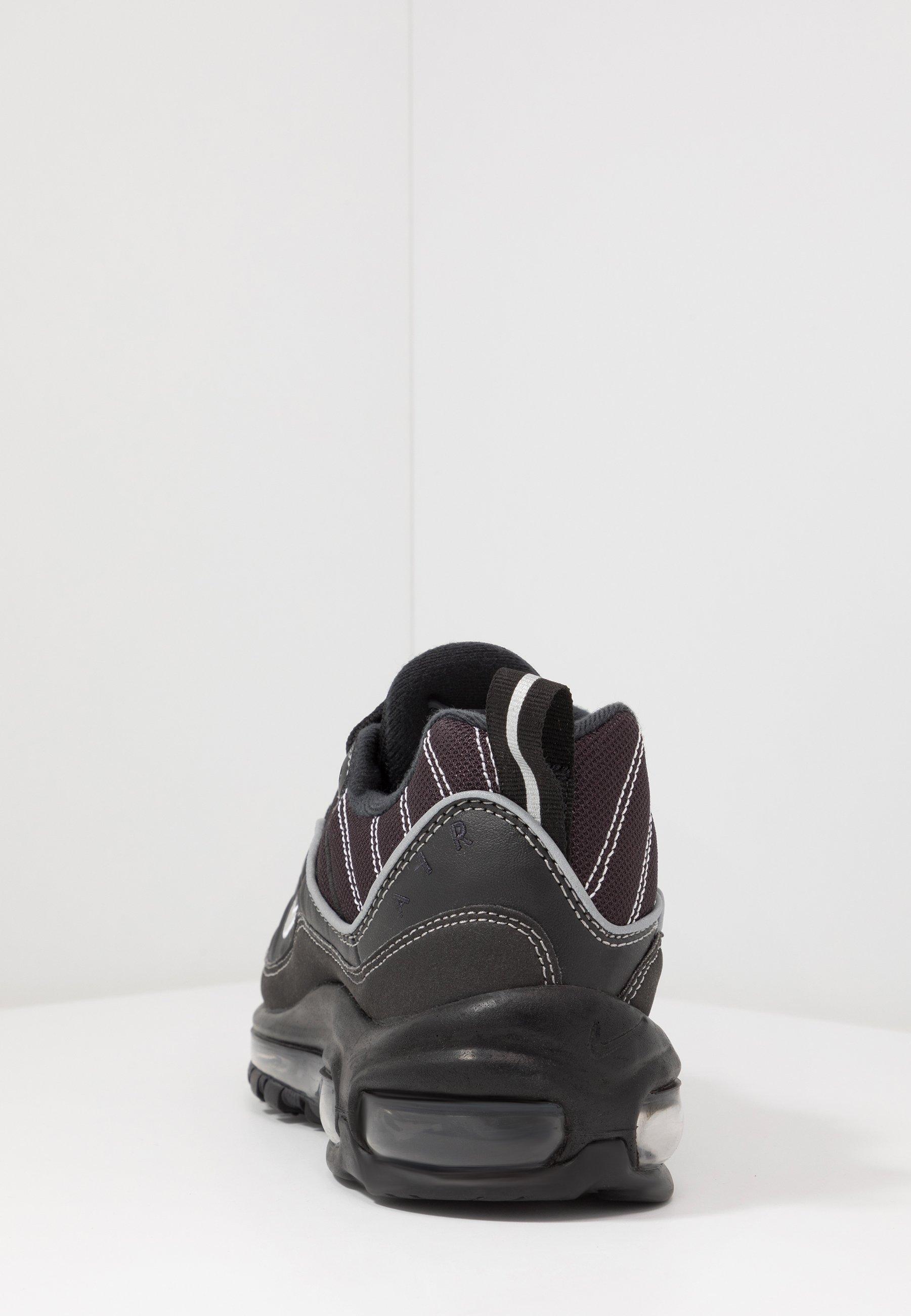 AIR MAX 98 Baskets basses blackmetallic silveroil greyvast greywhite