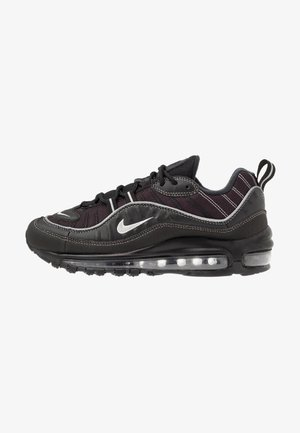 AIR MAX 98 - Sneakers laag - black/metallic silver/oil grey/vast grey/white