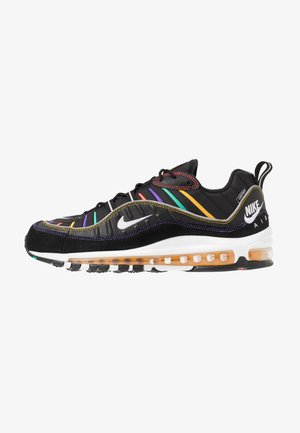 AIR MAX 98 PRM - Joggesko - black/flash crimson/kinetic green/psychic purple/university  gold/white