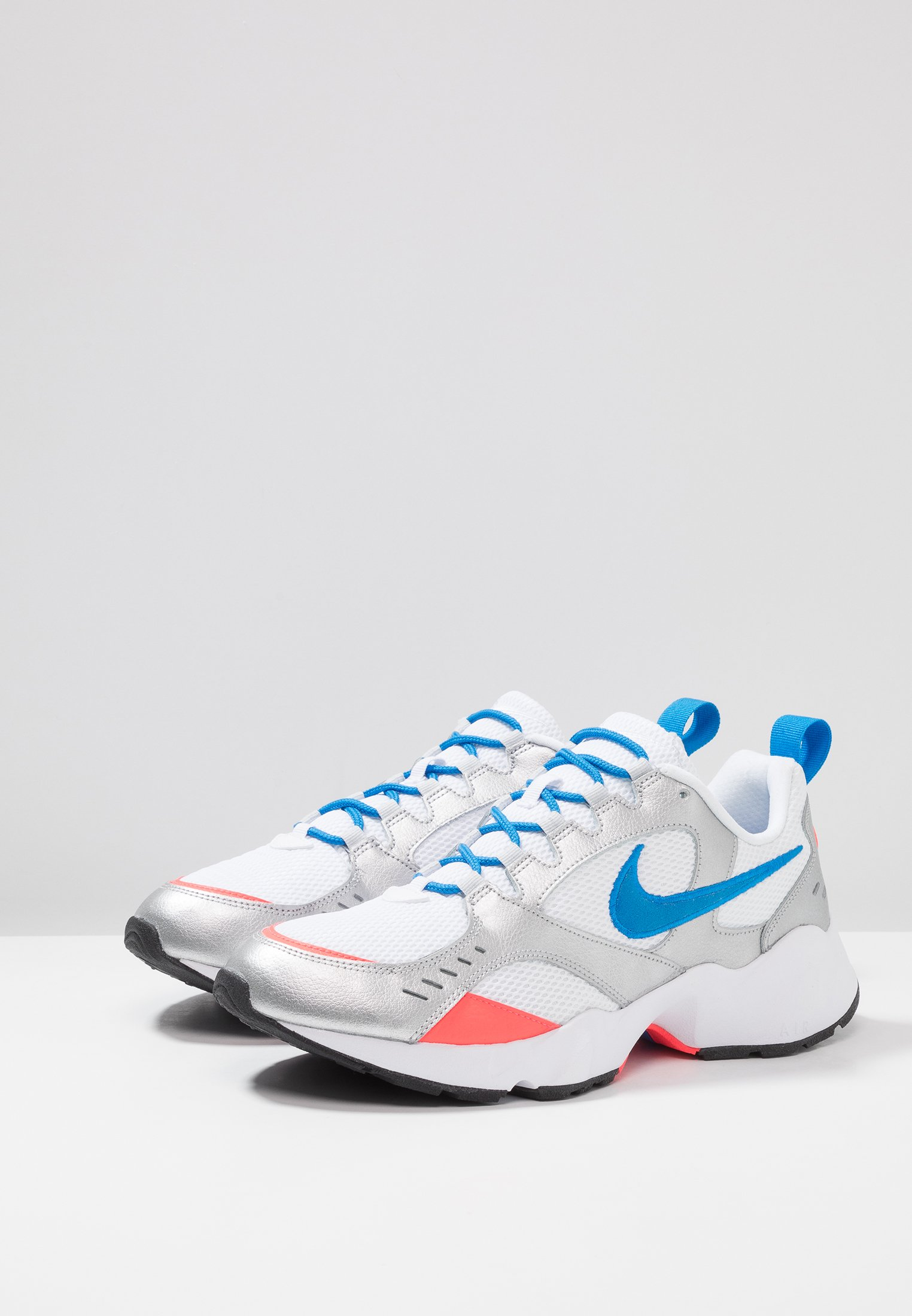 Sportswear Nike white black AIR HEIGHTSBaskets basses metallic photo platinum flash pure blue crimson platinum 2IWEHD9Y