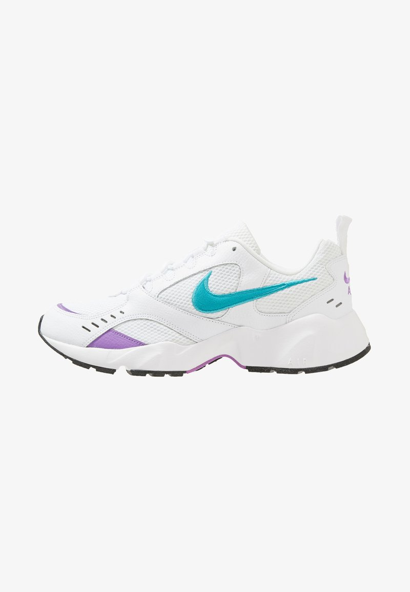 Nike Sportswear - AIR HEIGHTS - Zapatillas - white/teal/violet