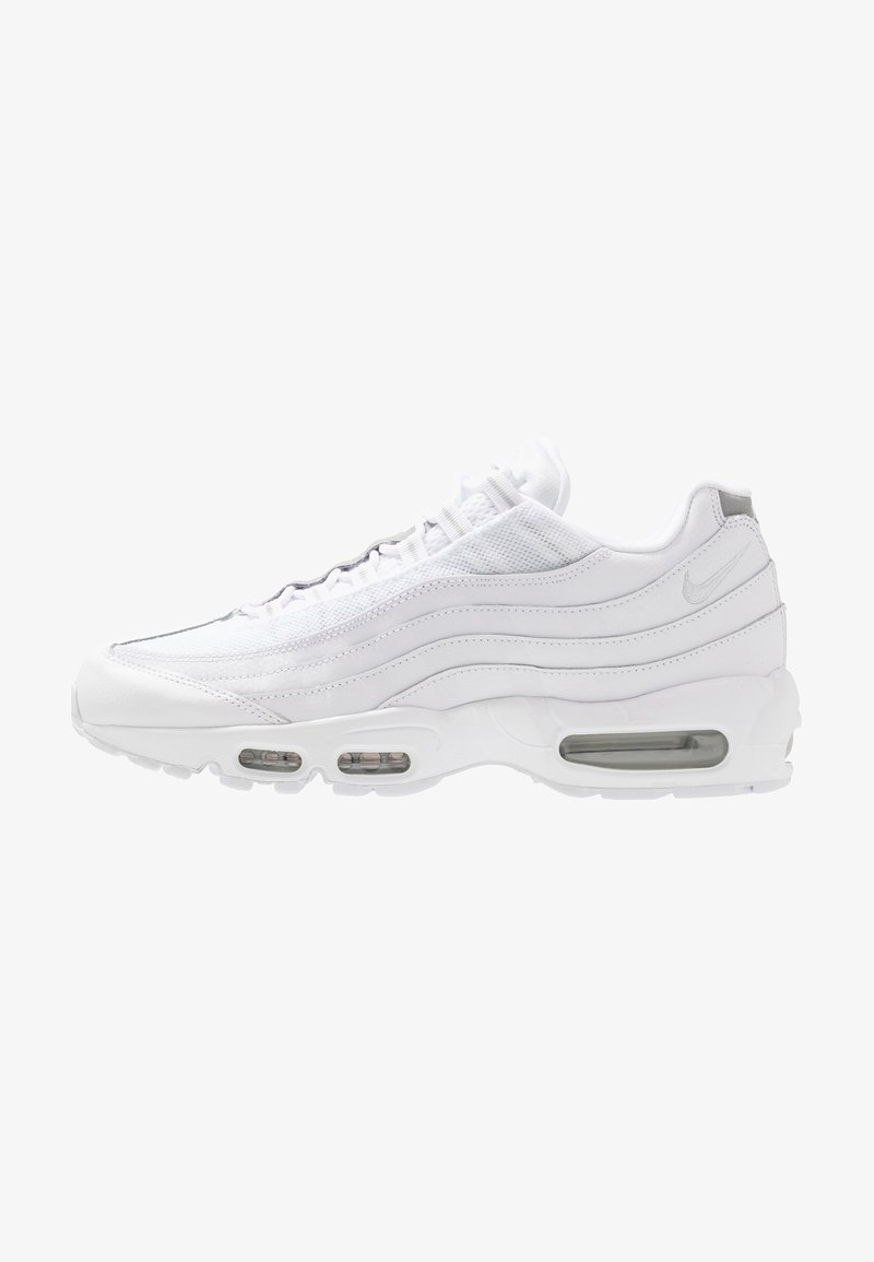 Nike Sportswear - AIR MAX 95 ESSENTIAL - Trainers - white/pure platinum/reflect silver/black