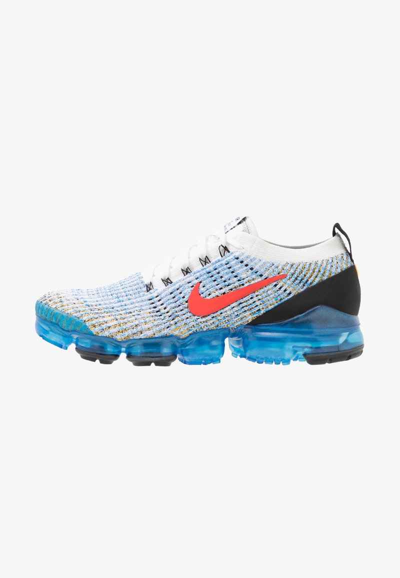 Nike Sportswear - AIR VAPORMAX FLYKNIT 3 - Matalavartiset tennarit - white/habanero red/university gold/photo blue/black/metallic silver