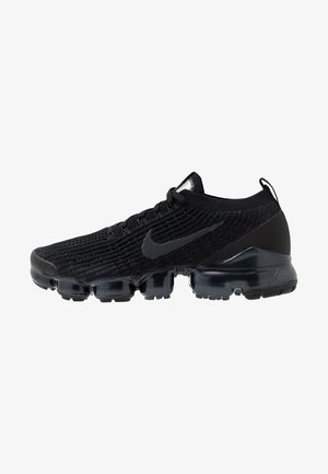 AIR VAPORMAX FLYKNIT - Sneakersy niskie - black/anthracite/white/metallic silver