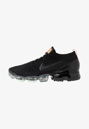 AIR VAPORMAX FLYKNIT - Sneakersy niskie - black/igloo/flash crimson/vast grey/dark grey