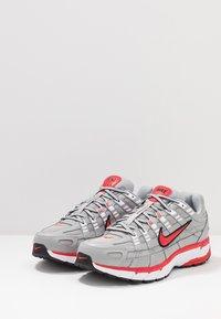 Nike Sportswear - P-6000 - Sneakers - football grey/university red/black/white - 3