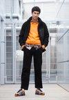 Nike Sportswear - P-6000 - Sneakers basse - total orange/black/anthracite/flat silver