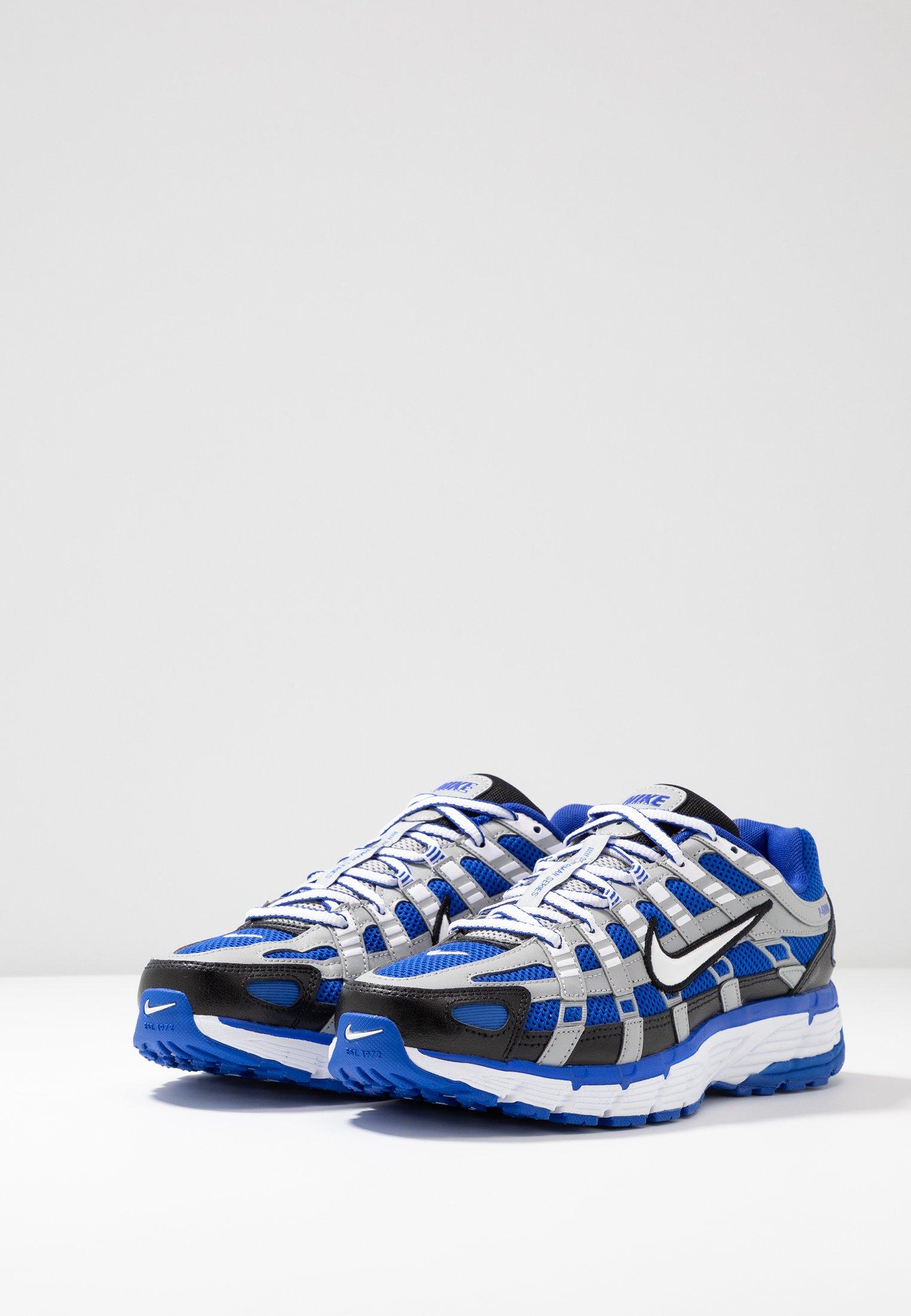 P 6000 Baskets basses racer bluewhiteblackflat silver