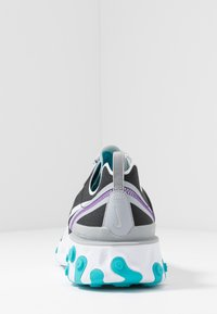Nike Sportswear - REACT 55 - Sneaker low - black/pure platinum/wolf grey/teal/voltage purple/white - 4