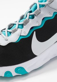 Nike Sportswear - REACT 55 - Sneaker low - black/pure platinum/wolf grey/teal/voltage purple/white - 6