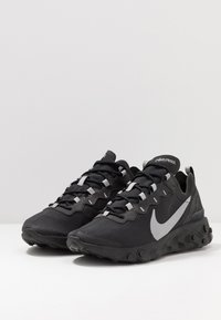 Nike Sportswear - REACT 55 - Sneakers - black/anthracite - 3