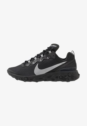 REACT 55 - Sneakers basse - black/anthracite