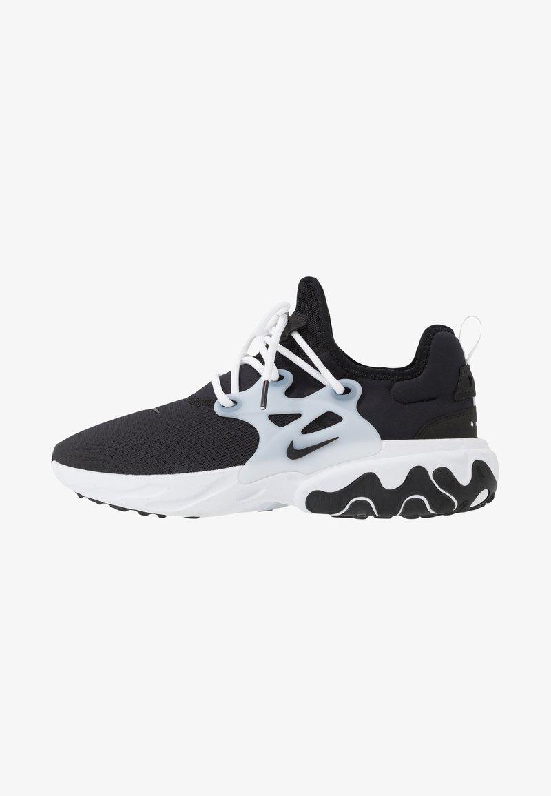 Nike Sportswear - REACT PRESTO - Matalavartiset tennarit - black/white