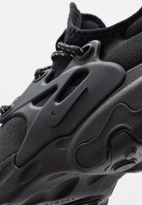 Nike Sportswear - REACT PRESTO - Tenisky - black/electric green - 5