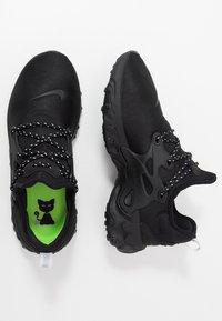 Nike Sportswear - REACT PRESTO - Tenisky - black/electric green - 1