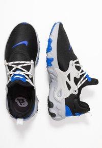 Nike Sportswear - REACT PRESTO - Sneakers - black/racer blue/atmosphere grey - 1