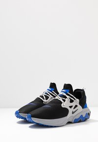 Nike Sportswear - REACT PRESTO - Sneakers - black/racer blue/atmosphere grey - 2
