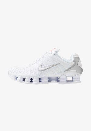 Nike Shox TL Herrenschuh - Trainers - white/metallic silver/max orange