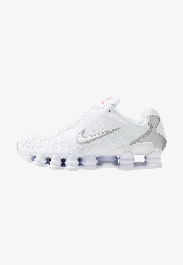 Nike Shox TL Herrenschuh - Sneakersy niskie - white/metallic silver/max orange