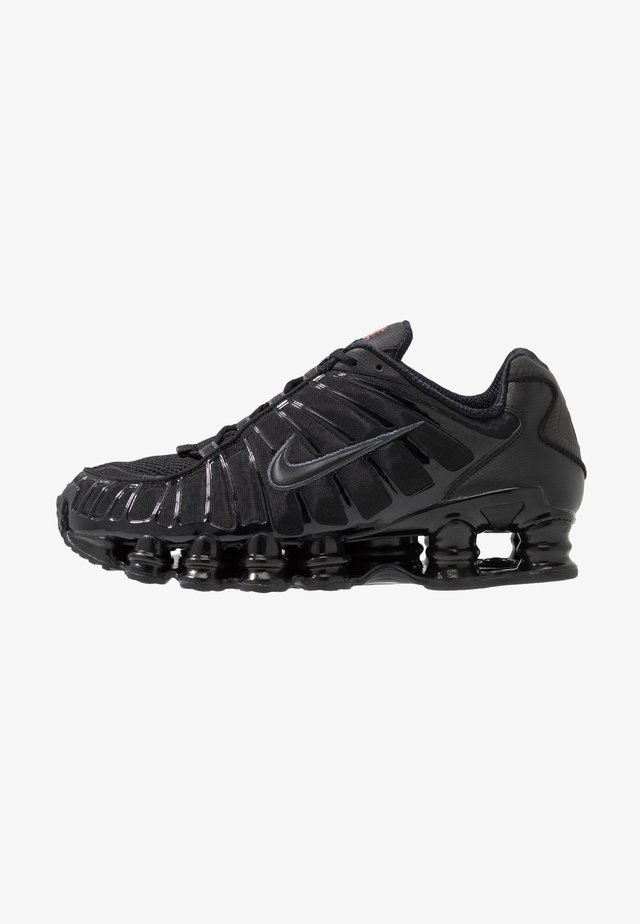 Nike Shox TL Herrenschuh - Sneakersy niskie - black/metallic hematite/max orange