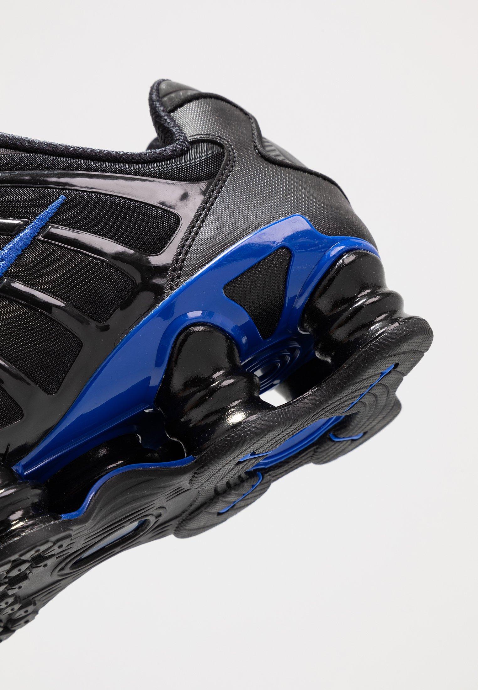 Nike Sportswear SHOX TL - Sneakersy niskie - black/racer blue