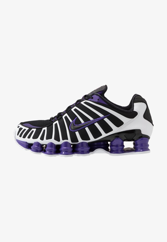 Nike Shox TL Herrenschuh - Sneakersy niskie - black/court purple/white