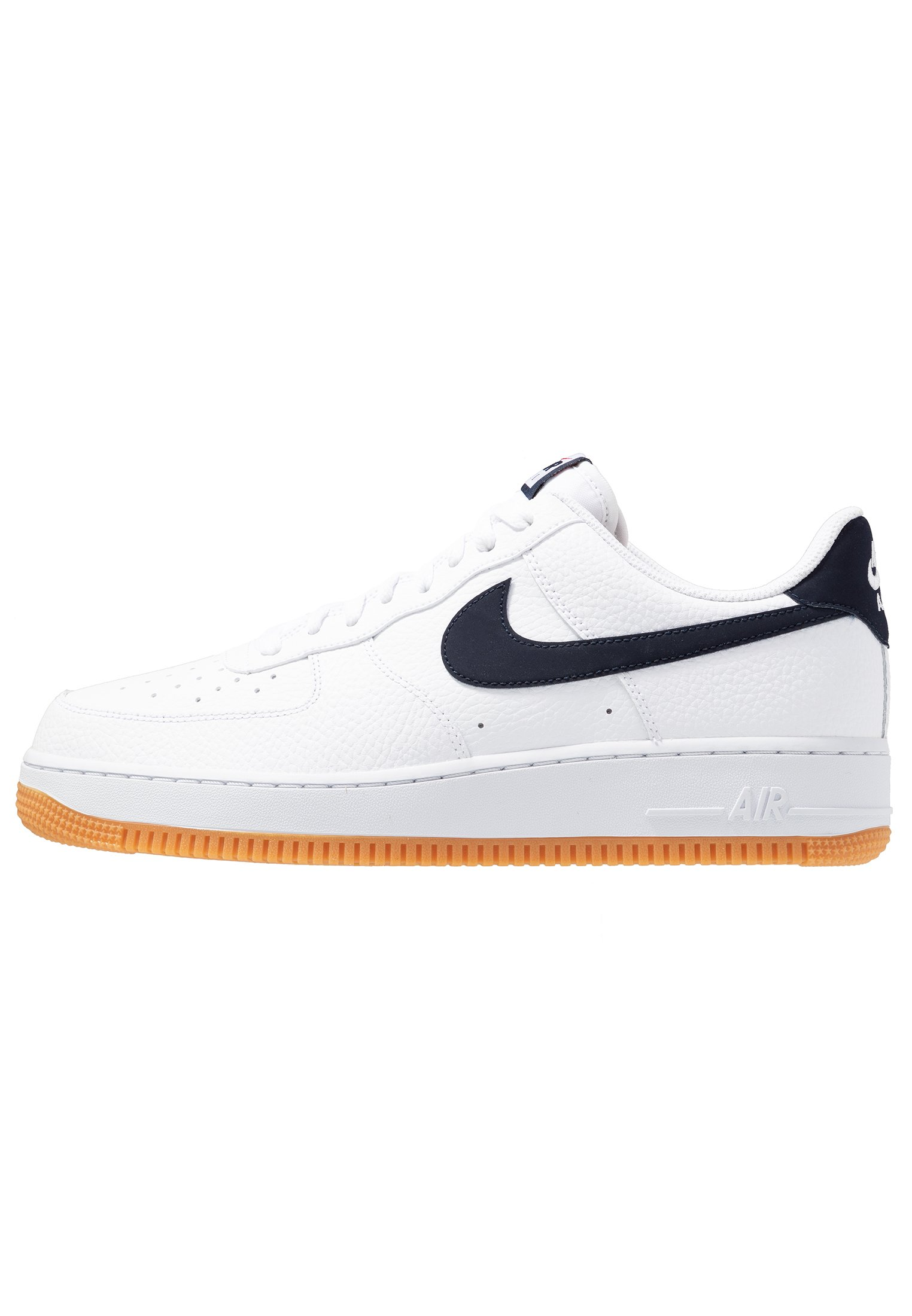 AIR FORCE 1 '07 Sneakers basse whiteobsidianuniversity redmedium brown