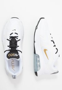 Nike Sportswear - AIR MAX 200 - Sneakers - white/metallic gold/black/metallic silver - 1