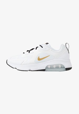 AIR MAX 200 - Sneakersy niskie - white/metallic gold/black/metallic silver