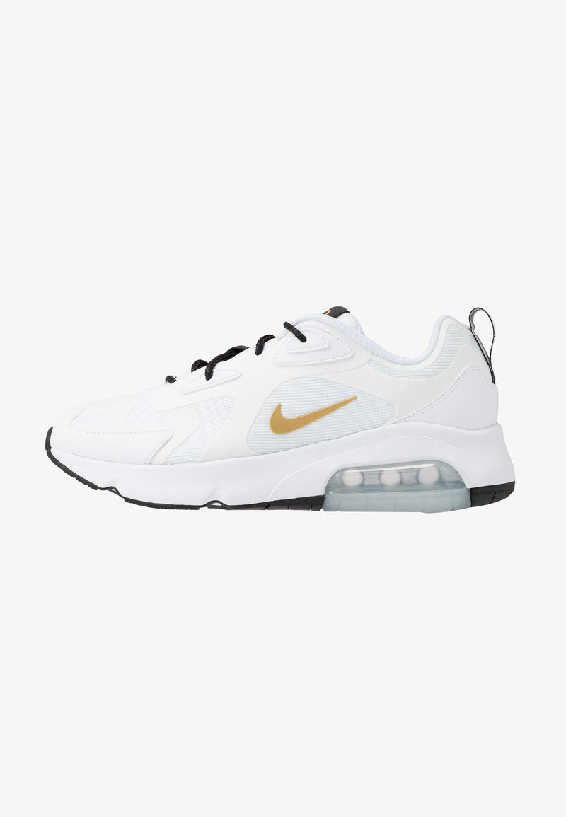 Nike Sportswear - AIR MAX 200 - Zapatillas - white/metallic gold/black/metallic silver