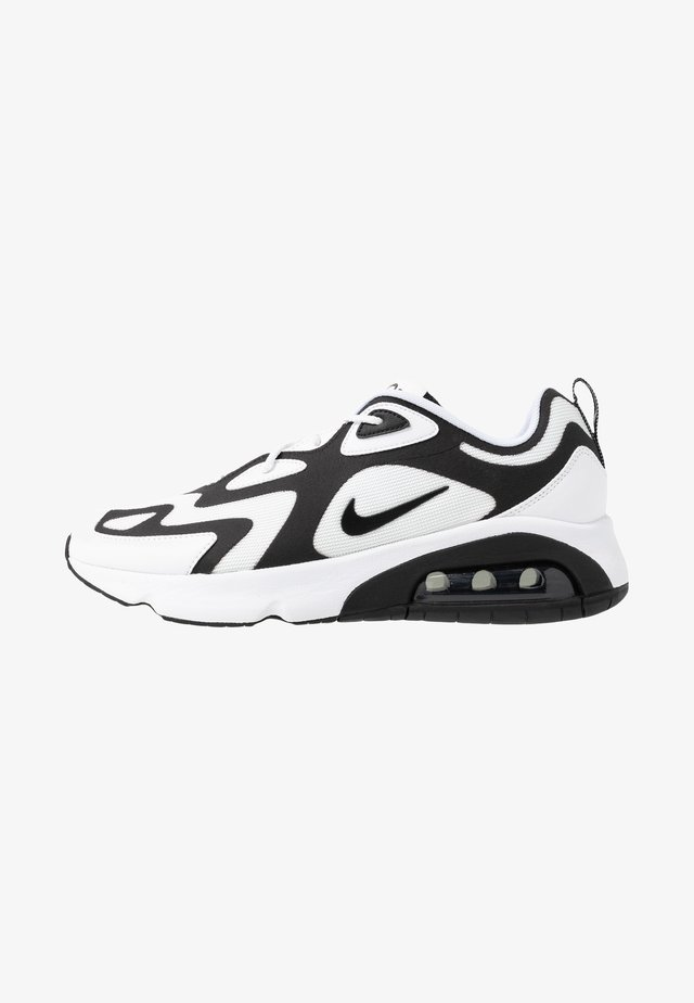 AIR MAX 200 - Sneakersy niskie - white/black/anthracite
