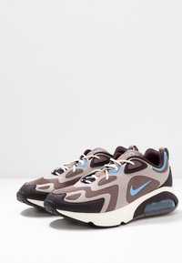 Nike Sportswear - AIR MAX 200 - Sneakers laag - plum eclipse/universe blue/pumice/burgundy ash/sail - 2