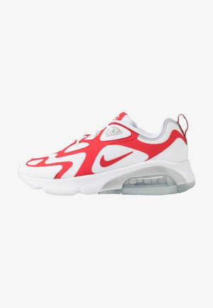 AIR MAX 200 - Sneakers basse - white/university red/metallic silver