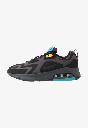 AIR MAX 200 - Sneakers basse - black/anthracite/bordeaux/university gold