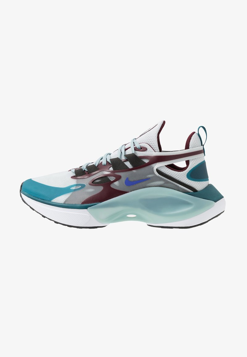 Nike Sportswear - SIGNAL D/MS/X - Trainers - pure platinum/rush violet/night maroon/ocean cube/midnight turquise/black