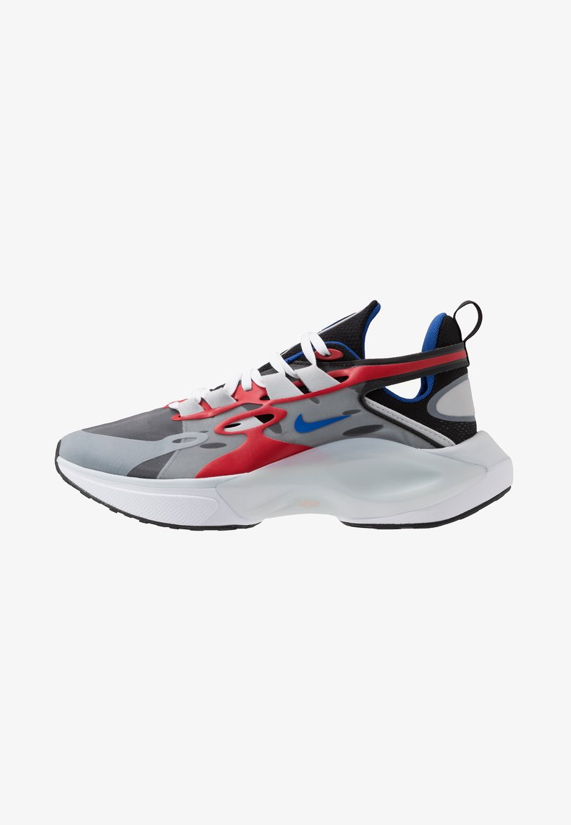 Nike Sportswear - SIGNAL D/MS/X - Sneakers - black/game royal/universe red/pure platinum/white