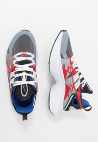 Nike Sportswear - SIGNAL D/MS/X - Sneakers - black/game royal/universe red/pure platinum/white - 1