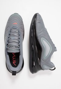 Nike Sportswear - AIR MAX 720 - Baskets basses - cool grey/bright crimson/black/reflect silver - 1