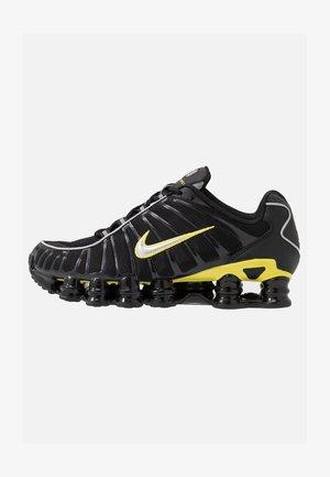 SHOX TL - Zapatillas - black/metallic silver/dynamic yellow