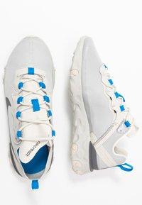 Nike Sportswear - REACT - Sneakers - light bone/dark grey/metallic silver - 1