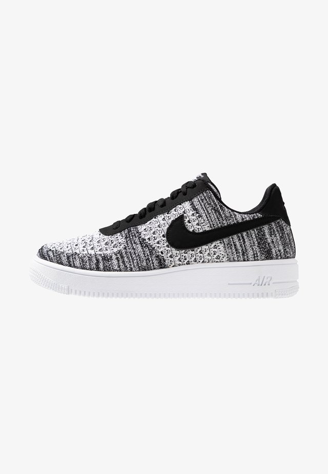 AIR FORCE 1 FLYKNIT 2.0 - Trainers - black/pure platinum/white
