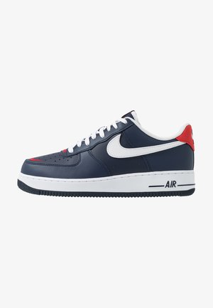 AIR FORCE 1 07 LV8 - Sneakersy niskie - obsidian/white/university red