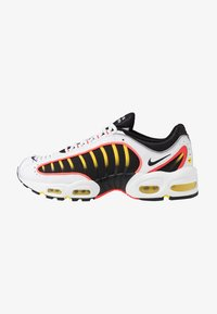 Nike Sportswear - AIR MAX TAILWIND IV - Sneakers basse - white/black/bright crimson/chrome yellow/reflect silver - 1