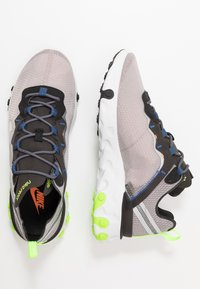 Nike Sportswear - REACT 55 SE - Zapatillas - pumice/metalic silver/total orange/summit white/black - 1