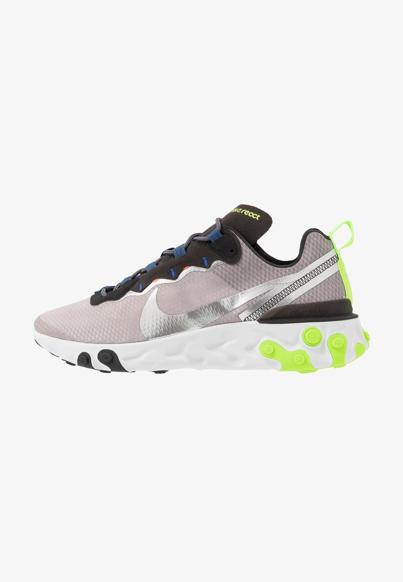 Nike Sportswear - REACT 55 SE - Zapatillas - pumice/metalic silver/total orange/summit white/black