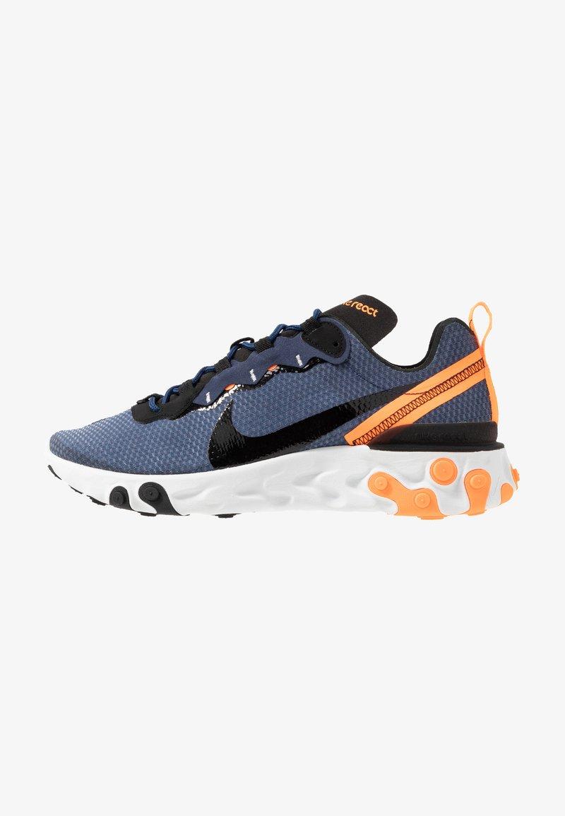 Nike Sportswear - REACT 55 SE - Sneakers laag - midnight navy/black/total orange/summit white