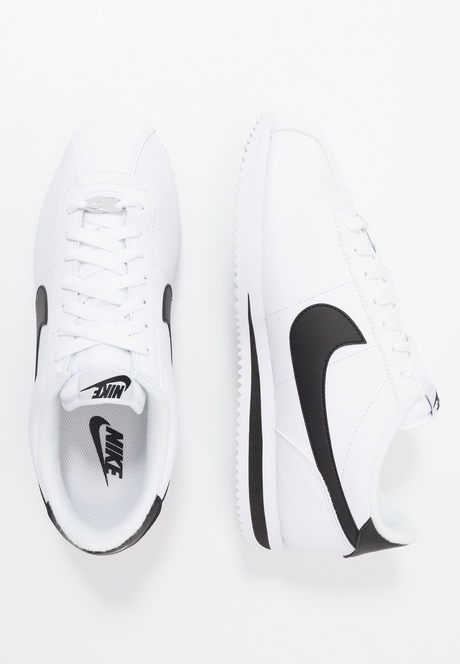 Nike Sportswear Cortez Basic - Joggesko White/black/metallic Silver