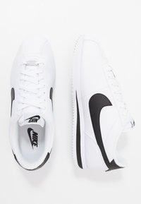 Nike Sportswear - CORTEZ BASIC - Zapatillas - white/black/metallic silver - 1